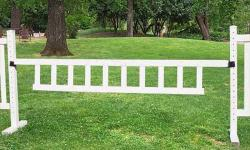 "10' x 18"" Picket Gate (Second) Horse Jumps"