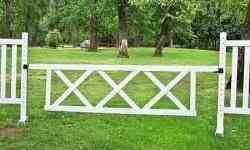 "10' x 2' 6"" Triple X Gate (Second) Horse Jumps"