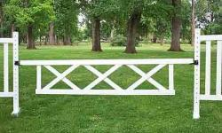 10' x 2' Triple X Gate (Second) Horse Jumps