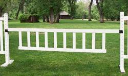 "10' x 2' 6"" Picket Gate Horse Jumps"