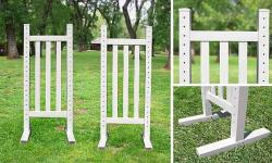 6' Picket Wing Standard - Pair Horse Jumps