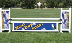 Custom & Logo Jumps Horse Jumps
